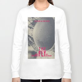 The Fly, horror movie poster, David Cronenberg, Jeff Goldblum, alternative playbill Long Sleeve T-shirt