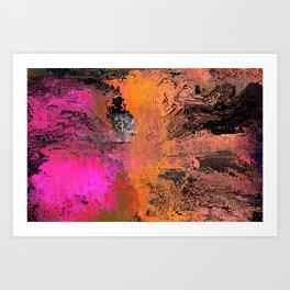 moshed Art Print