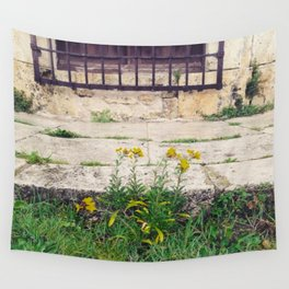 The Flower Lane Wall Tapestry