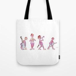 Musical clowns Tote Bag