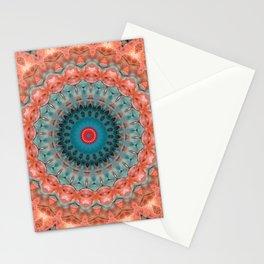 Blue orange 2 Stationery Cards