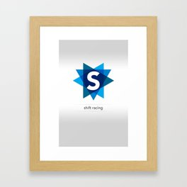 Shift Racing Framed Art Print