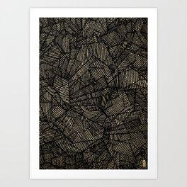 - étoile noire [blackstar] - Art Print
