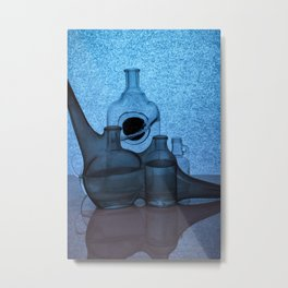 Etude and cold colors Metal Print