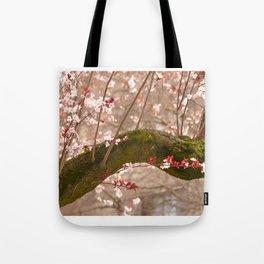 VIDA Tote Bag - Floral Cherry Tree by VIDA