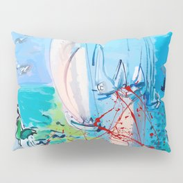 Regatta by Raoul Dufy Pillow Sham