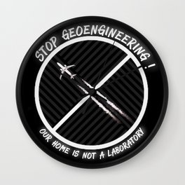 Stop Geoengineering Wall Clock