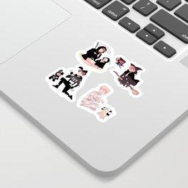vocal line + bt21 halloween! Sticker