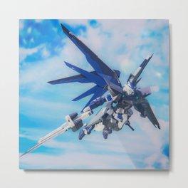 Gundam Astray Raven Metal Print