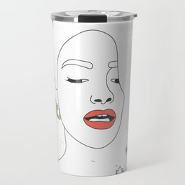 Red lips Travel Mug
