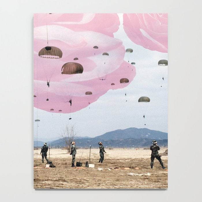 parachute rose Notebook
