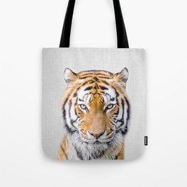 Tiger - Colorful Tote Bag