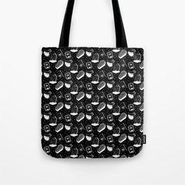 Grim Pattern (large) Tote Bag