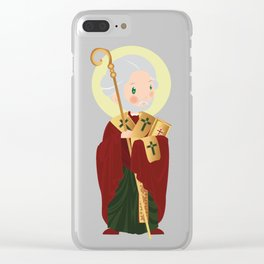 St. Nicholas of Myra Clear iPhone Case