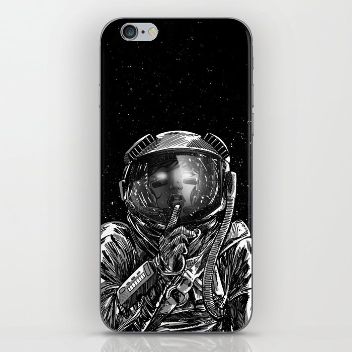 The Secrets of Space iPhone Skin