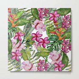 Tropical Garden 3 Metal Print