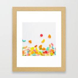BUNCH OF CANDY I Framed Art Print