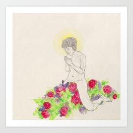 Virgin Art Print