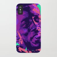 wesley bird iPhone & iPod Cases featuring Wesley snipes // Bad actors v2 by mergedvisible