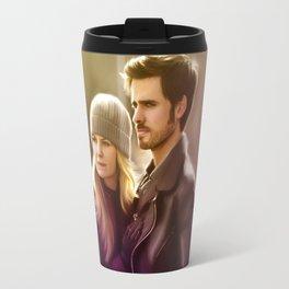 The Captain and The Savior Travel Mug