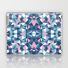 Abstract Collide Blue and Pink Laptop & iPad Skin