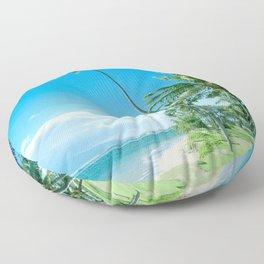 Waipuilani Beach Kīhei Maui Hawaii Floor Pillow