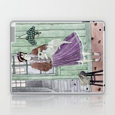 Girl with a sheep Laptop & iPad Skin