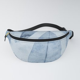 Botanical Pattern 2 (blue) Fanny Pack