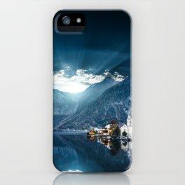 hallstatt in austria iPhone Case