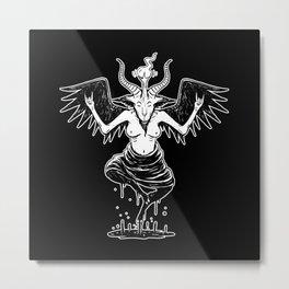 fun baphomet Metal Print