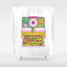 All Your Dirty Little Secrets Shower Curtain