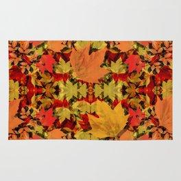 Leaves all Around Rug