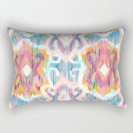 lollipop balinese ikat Rectangular Pillow