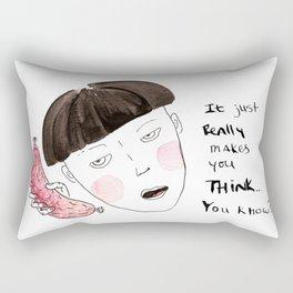 Sausage Girl 01 Rectangular Pillow