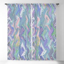 Abstract Y 116 Blackout Curtain