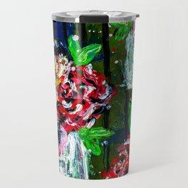 Buckets of Flowers Travel Mug