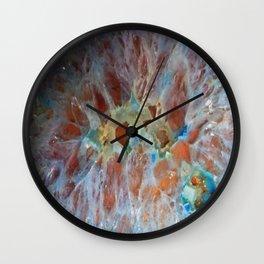 Crystal Cross Section  Wall Clock