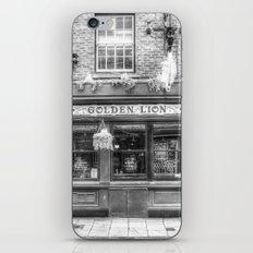 The Golden Lion Pub York iPhone & iPod Skin