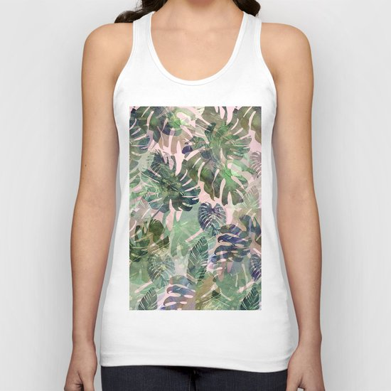 tropical confusion Unisex Tank Top