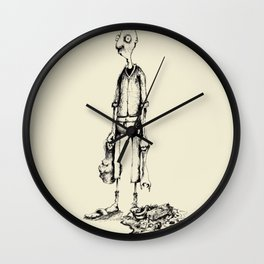 Four Billion Years Of Evolution. And Here I Am. Wall Clock