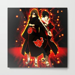 itachi vs sasuke Metal Print