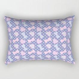 Pretty Baby Brand Whore Allover Pastel Violet Rectangular Pillow