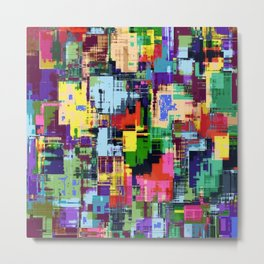 Colorful 3 Metal Print