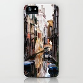Venice at sunset iPhone Case