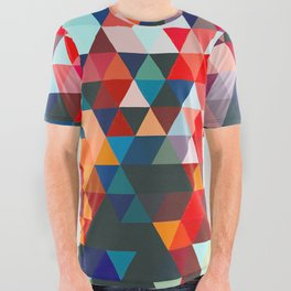 Geometrico #geometrical #abstract All Over Graphic Tee
