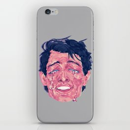 Attractive Crying Man iPhone Skin