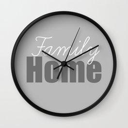 Family Home Wall Clock