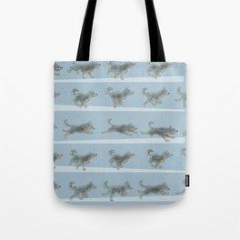 Run Dog, Run! Tote Bag