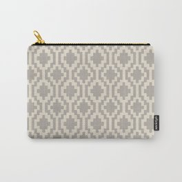 Mapuche Grey/Beige Carry-All Pouch