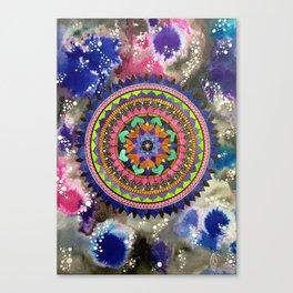 Galactic Mandala Canvas Print